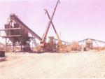 Территория завода, установка дробильного завода
