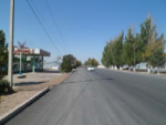Км 214 Расширение дороги на участке рынка Барыс