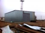 Склад соли – Устройство стяжки вокруг зданий