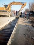 Construction of widening of pavement