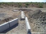 PK 568+40 Slope water drainage