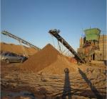Разделение крупных частиц из песка