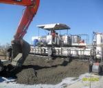 Устройство цементобетонного покрытия